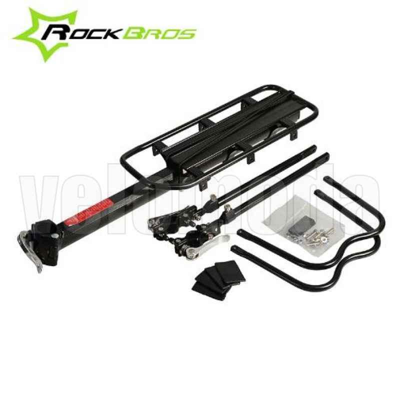 Багажник для велосипеда алюминиевый RockBros 1007-1 (50кг)