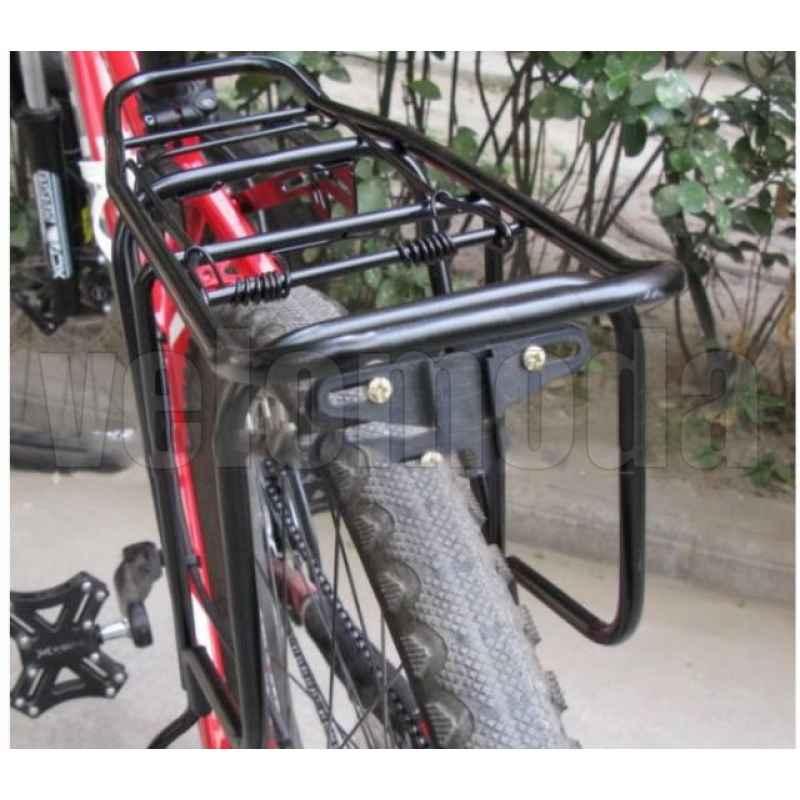 """Багажник для велосипеда 1337-506 сварной алюминиевый до 29"""""""