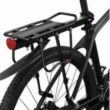 """Багажник для велосипеда KW 671-09-01 алюминиевый, универсальный, 24-29"""""""