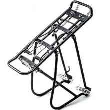 """Багажник для велосипеда HW 172031, алюминиевый, 24-29"""" (Черный)"""
