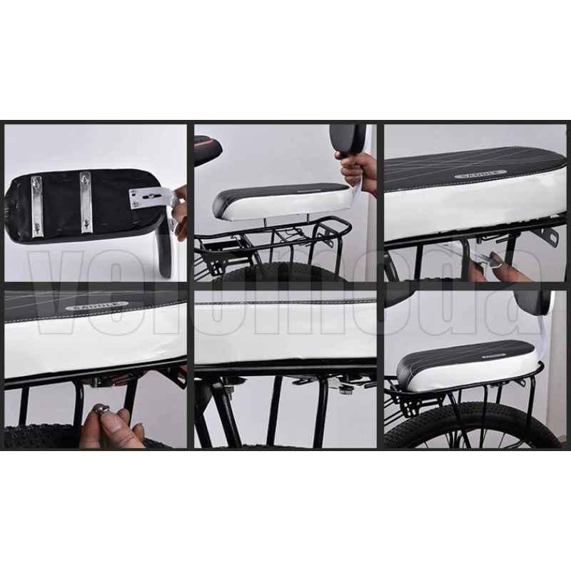 Детское кресло D2568 для велосипеда на багажник