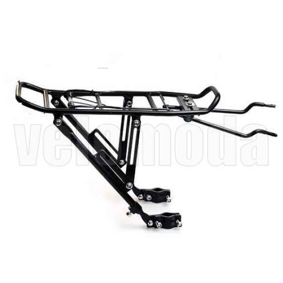 Багажник для велосипеда Horst H023 алюминиевый до 20 кг (Черный)