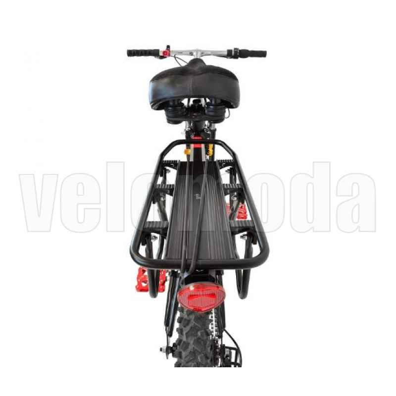 Багажник для велосипеда KW 671-09 алюминиевый до 50 кг