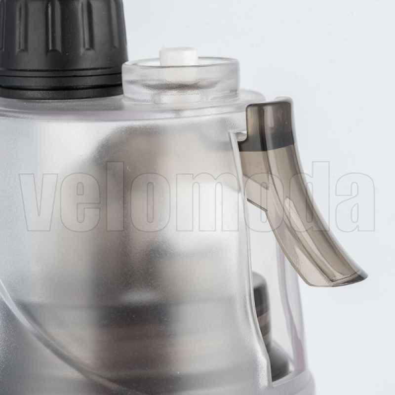 Фляга для воды + поилка для домашних животных 600 мл (черная)
