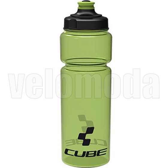 Бутылка для воды Cube Icon 0.75 мл, PE, Италия (Зеленый-прозрачный)