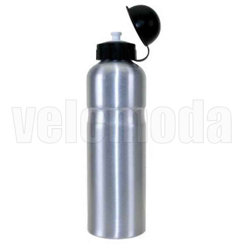 Фляга для воды на велосипед алюминиевая (Металлик)