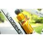 Спортивная бутылка для воды на велосипед Beto алюминиевая (Золотая)