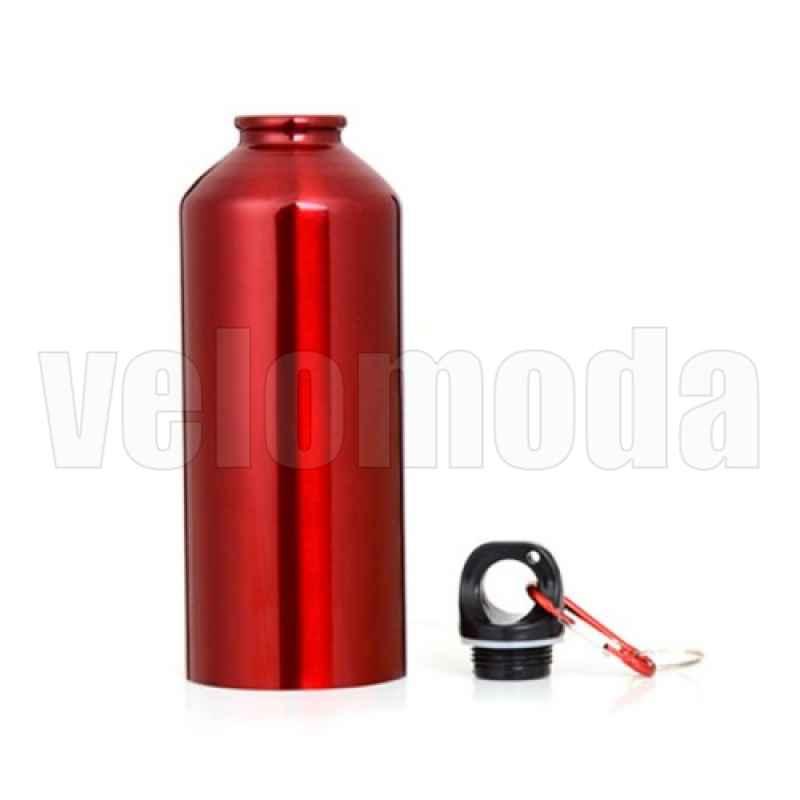 Фляга для воды алюминиевая 750мл (Красный) Уценка
