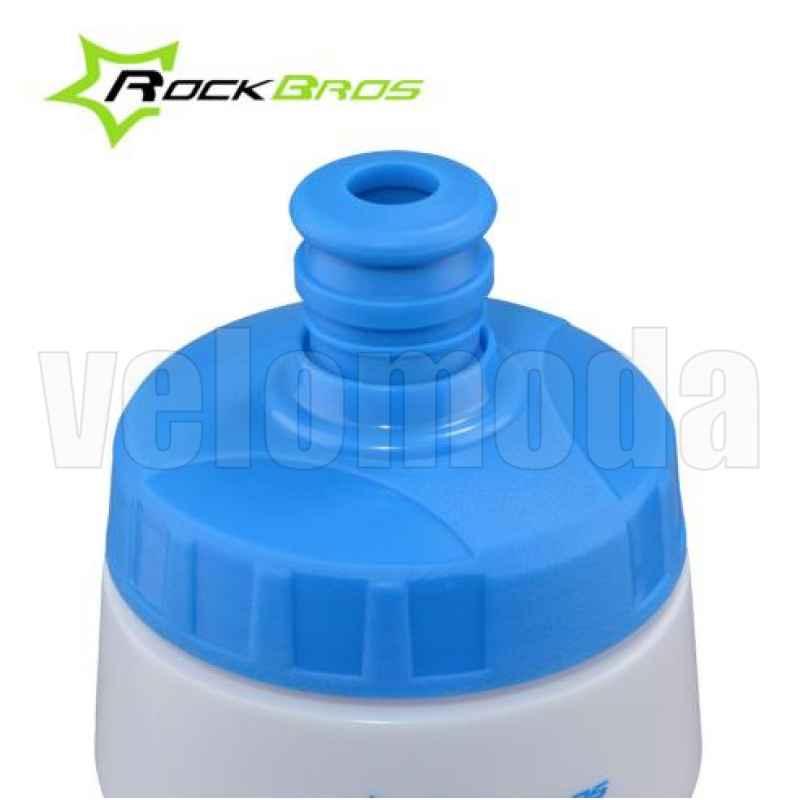 Бутылка для воды на велосипед RockBros 750мл полипропилен (синяя)