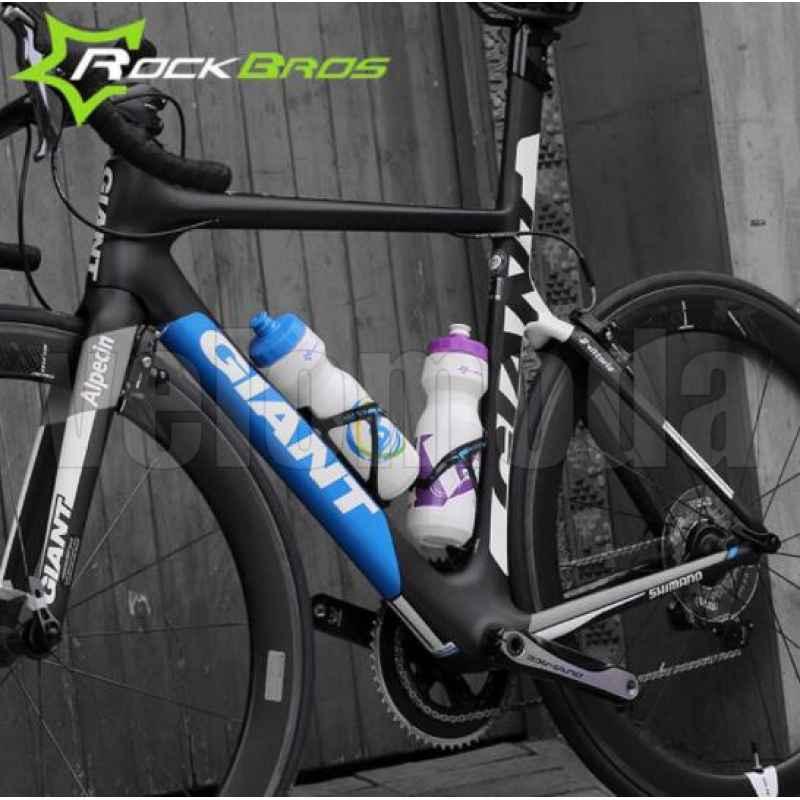 Бутылка для воды на велосипед RockBros 750мл полипропилен (зеленая)