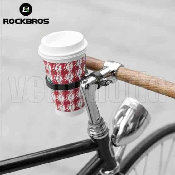 Держатель для стаканов и термокружек, алюминий Rockbros 11ABK