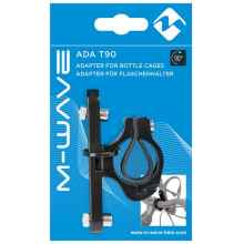 Крепление флягодержателя M-Wave ADA T90, 22.2-25.4мм (Черный)