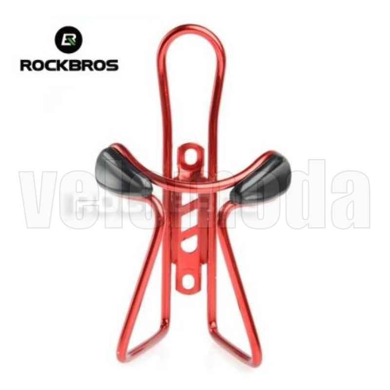 Держатель для бутылки универсальный Rockbros KW-317 алюминий (красный)