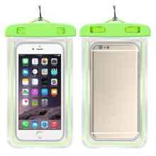 Водонепроницаемый чехол для смартфона 17.5 см x 10.5 см (зеленый)