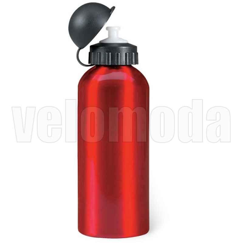 Фляга для воды металлическая 600 мл (Красная)
