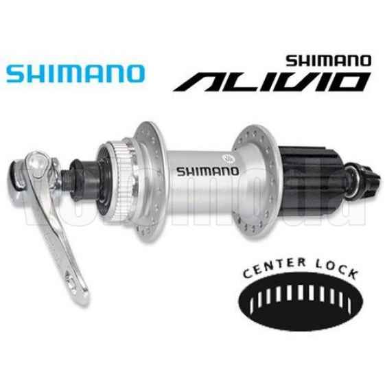 Втулка для заднего колеса велосипеда Shimano Alivio M435 36 отв., 8-9 скоростей (металлик)