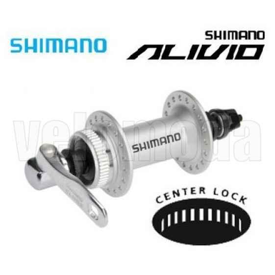 Втулка для переднего колеса велосипеда Shimano Alivio M435 36 отв. (металлик)