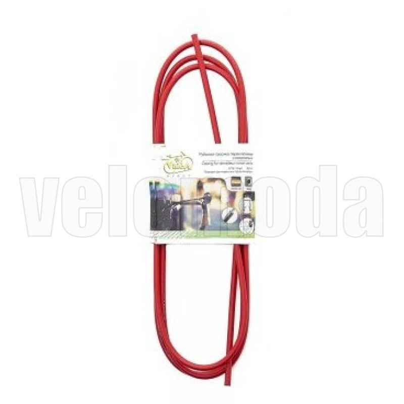 Рубашка тросика тормоза 4 мм, 2 метра (красный)