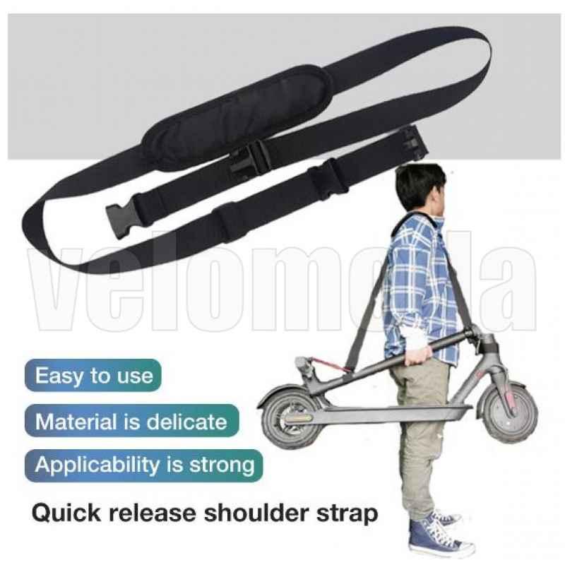 Ремень для переноски электросамоката на плече