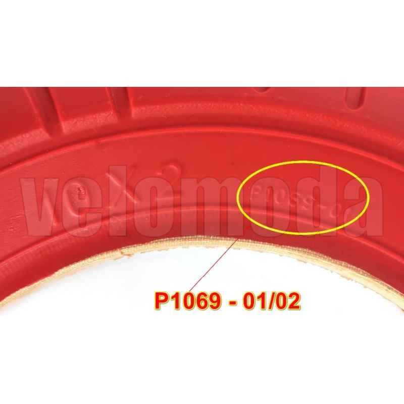 Шина для электросамоката P1237-20 (10*2) Красная