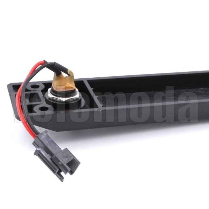 Разъем зарядки для электросамоката Kugoo S3 в сборе с пластиной