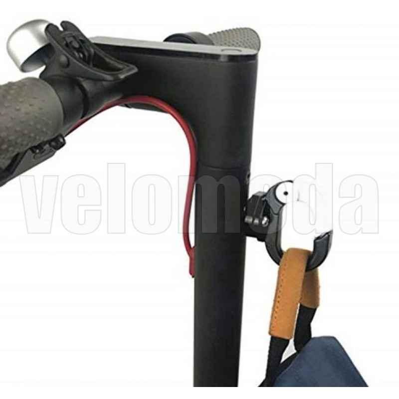 Карабин ручной клади для электросамоката, мотоцикла (Черный)