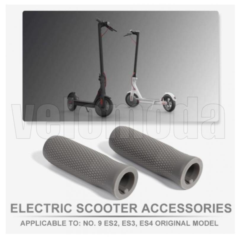Грипсы, ручки на руль для электросамоката Ninebot ES1/ES4 (Серый)
