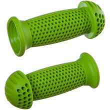 Грипсы-грибочки детские для самоката, велосипеда STG GR112 100 см (Зеленые)