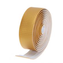 Обмотка руля карбон + заглушки (Золотая)