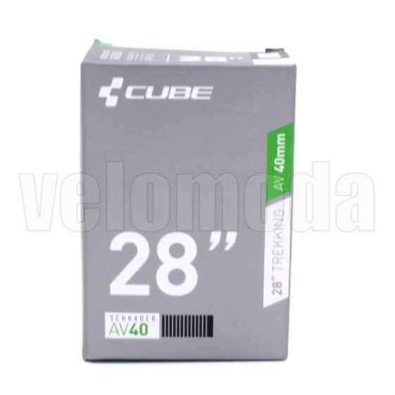 Велокамера CUBE 28Х1.1/1.5 авто-ниппель 40 ММ (Вьетнам)
