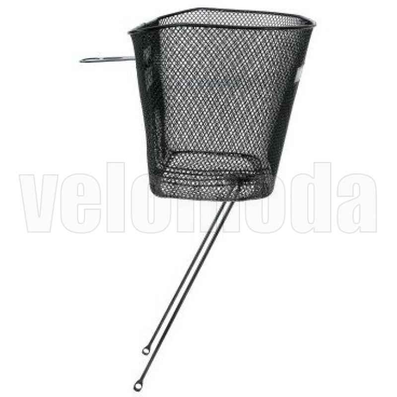 Корзинка для велосипеда передняя Vinca стальная (Black)