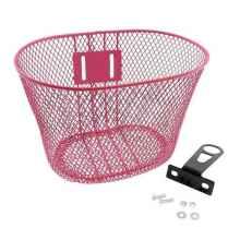 Корзина передняя HW 175050 для детских велосипедов (Розовый)