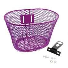 Корзина передняя HT-022 для детских велосипедов (Фиолетовый)