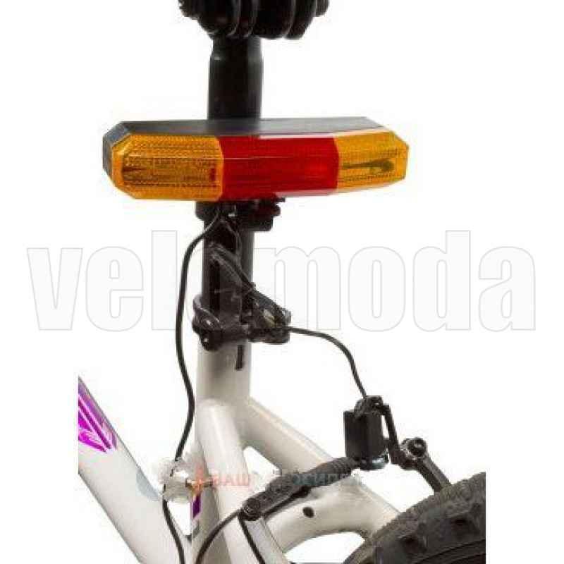 Велофонарь задний 7 диодов поворотник+стоп сигнал Ventura