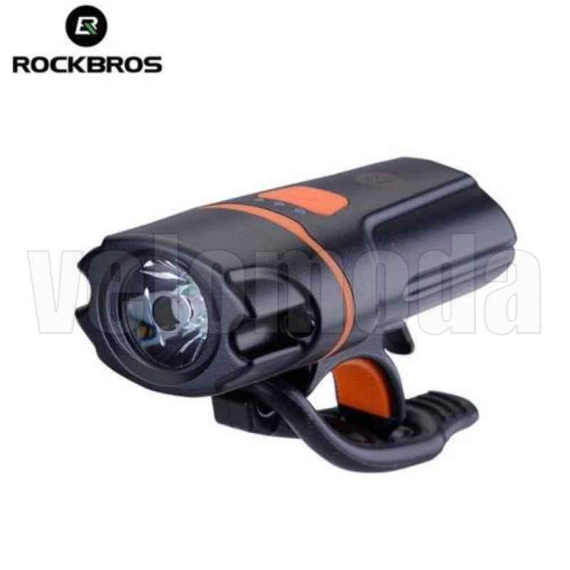 Велофонарь RockBros 1101 250 люмен, аккумуляторный