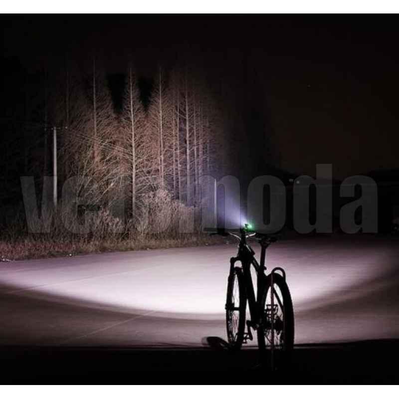Фонарь велосипедный RockBros 0077 Сова 1000Lm с аккумулятором