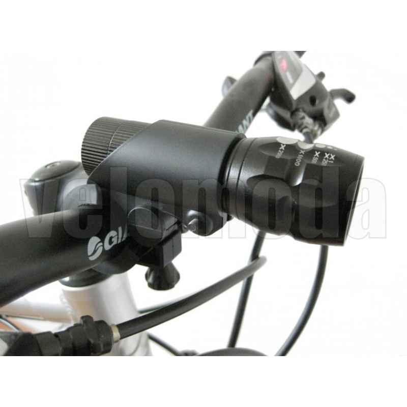 Держатель для велосипедного фонарика на руль Sahoo