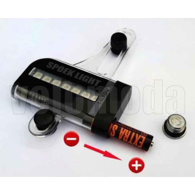 Освещение на спицы светодиодное RM1430 14LED, 30 изображений