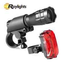 Комплект освещения на велосипед 019+R1, 160Lm, IP65