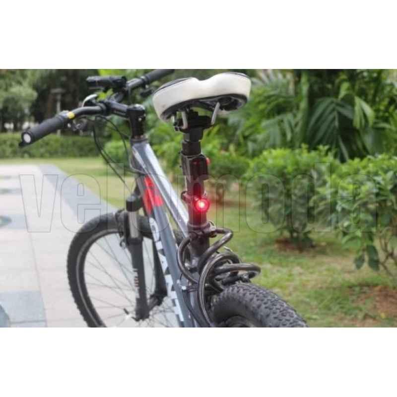 Комплект освещения на велосипед 019+RH002, 160Lm, IP65