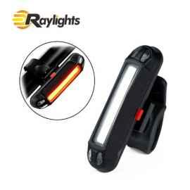Габарит для велосипеда с лазерными дорожками Kaitai 5 LED + 2 Laser