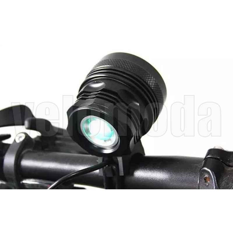 Фонарь велосипедный B8 12000Lm, 12000 mAh, IP65