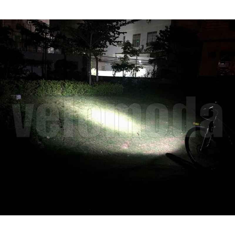 Фонарь велосипедный BX3 три диода T6, 5200 mAh