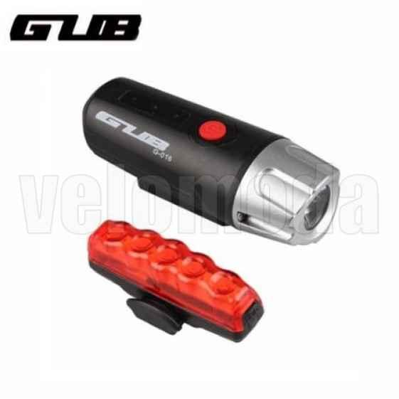 Комплект освещения для велосипеда GUB 300Lm на аккумуляторах