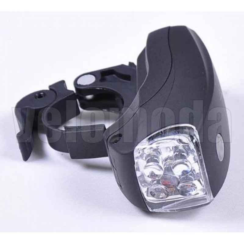 Комплект освещения на велосипед  XC761 5+5LED IPX-4