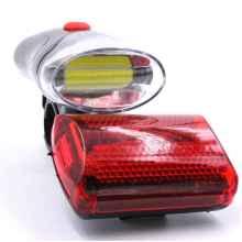 Комплект фонарей для велосипеда X-Balog YZ-809 на батарейках