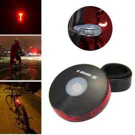 Велофонарь задний 5 led, 6 режимов