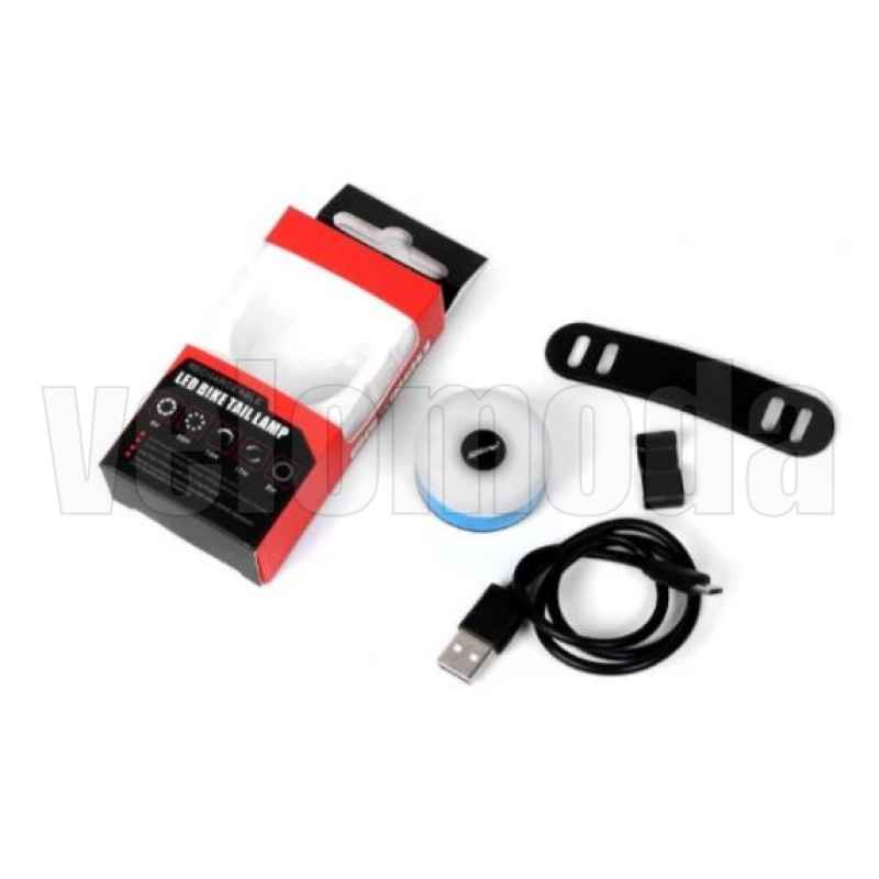 Габарит для велосипеда T05 16 LED, 20LM, 220mAh, IPX5