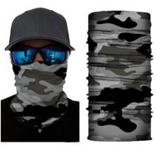 Баф Волшебный шарф Rockbros 1420 (Серый камуфляж)