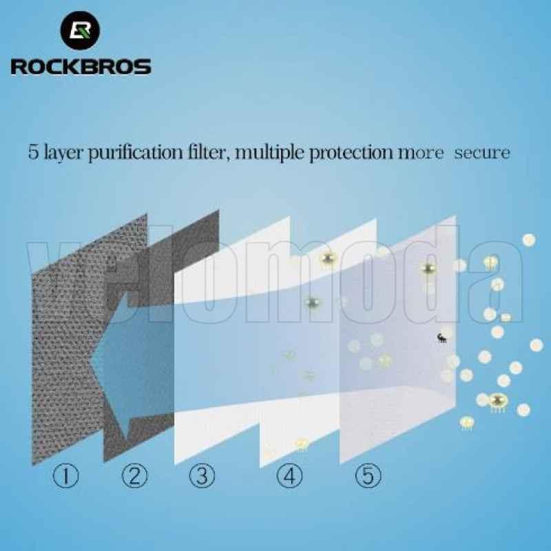 Маска (респиратор) RockBros LF006 (Серый)
